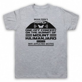 Brian Pern Concert On Mount Kilimanjaro For Wifi Afflicted Moths T-Shirt