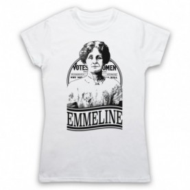 Emmeline Pankhurst Suffragette Women's Rights Activist Tribute T-Shirt T-Shirts