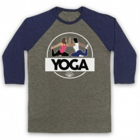 Yoga Health & Fitness Exercise Regime Baseball Tee