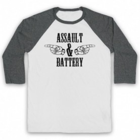 It's Always Sunny In Philadelphia Assault & Battery As Worn By Mac Baseball Tee