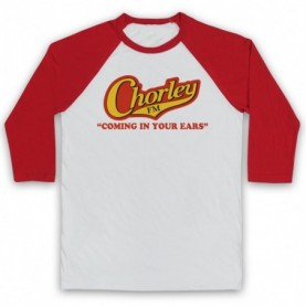 Phoenix Nights Chorley FM Coming In Your Ears Baseball Tee