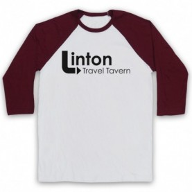 Alan Partridge Linton Travel Tavern Baseball Tee