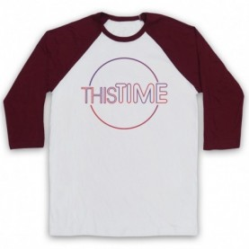 Alan Partridge This Time Baseball Tee
