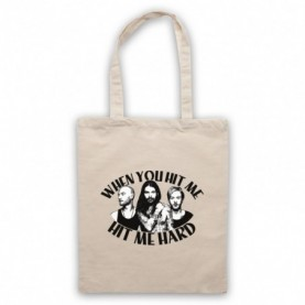 Biffy Clyro Many Of Horror Collide Hit Me Hard Tote Bag
