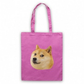 Doge Dog Head Meme Tote Bag