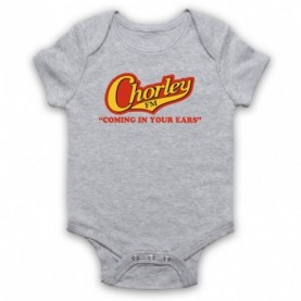 Phoenix Nights Chorley FM Coming In Your Ears Baby Grow Bib
