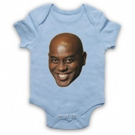 Ainsley Harriott Face Meme Baby Grow Bib