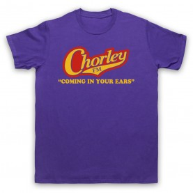 Phoenix Nights Chorley FM Coming In Your Ears T-Shirt