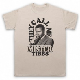 In The Heat Of The Night They Call Me Mr Tibbs Mens Sand T-Shirt