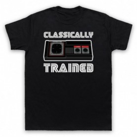 Classically Trained Master System Console Controller Mens Black T-Shirt