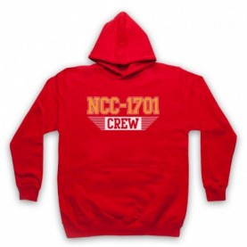 Star Trek Enterprise Crew NCC 1701 Hoodie Sweatshirt Hoodies & Sweatshirts