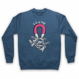Edward Sharpe And The Magnetic Zeros Magnet Adults Airforce Blue Sweatshirt