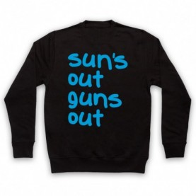 22 Jump Street Sun's Out Guns Out Hoodie Sweatshirt Hoodies & Sweatshirts