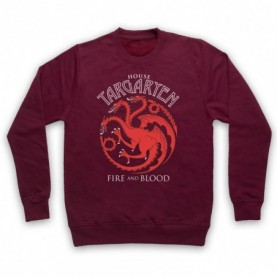 Game Of Thrones House Targaryen Hoodie Sweatshirt Hoodies & Sweatshirts