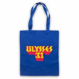 Ulysses 31 Logo Royal Blue Tote Bag