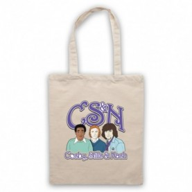 Cosby Stills And Nash CSN Bill Cosby Natural Tote Bag