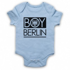 Boy Berlin German Eagle London Parody Light Blue Baby Grow