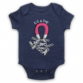 Edward Sharpe And The Magnetic Zeros Magnet Navy Blue Baby Grow