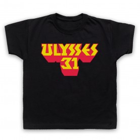 Ulysses 31 Logo Kids Black T-Shirt