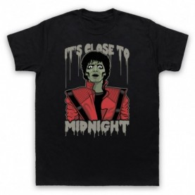 Michael Jackson Thriller  Mens Black T-Shirt