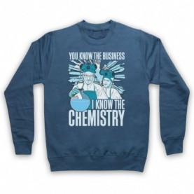 Breaking Bad Walter & Jesse I Know The Chemistry Hoodie Sweatshirt Hoodies & Sweatshirts