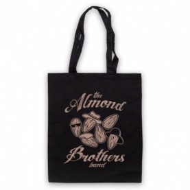 Almond Brothers Band Rock Band Parody Black Tote Bag