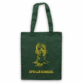 13th Floor Elevators Music Of The Spheres Dark Green Tote Bag