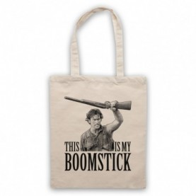 Army Of Darkness Evil Dead 3 This Is My Boomstick Natural Tote Bag