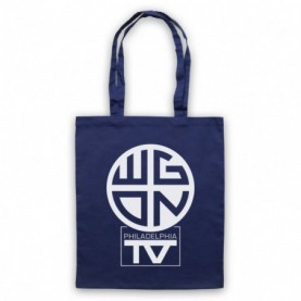 Dawn Of The Dead WGON Television Studios Navy Blue Tote Bag