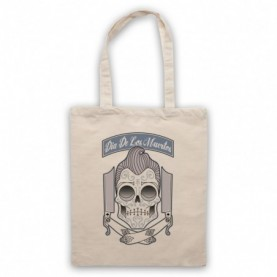 Dia De Los Muertos Mexican Day Of The Dead Natural Tote Bag