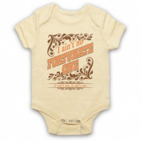 Creedence Clearwater Revival CCR Fortunate Son Light Yellow Baby Grow