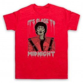 Michael Jackson Thriller  Mens Red T-Shirt
