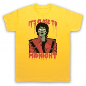 Michael Jackson Thriller  Mens Yellow T-Shirt