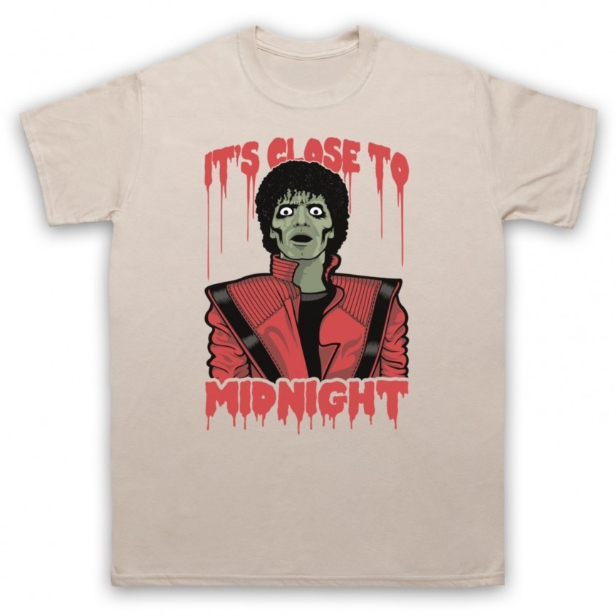 Michael Jackson Thriller  Mens Sand T-Shirt