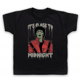 Michael Jackson Thriller  Kids Black T-Shirt