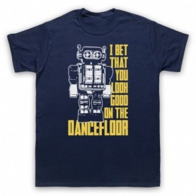 Arctic Monkeys I Bet That You Look Good On The Dance Floor Mens Navy Blue T-Shirt