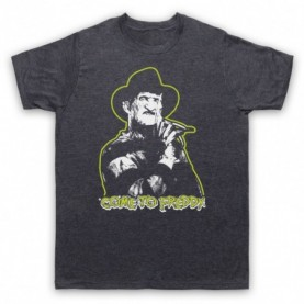 A Nightmare On Elm Street Come To Freddy Mens Heather Slate T-Shirt