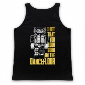 Arctic Monkeys I Bet That You Look Good On The Dance Floor Adults Black Tank Top