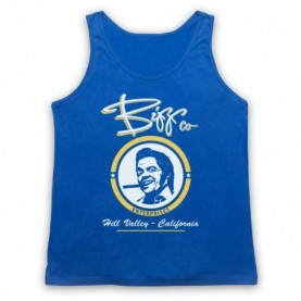 Back To The Future Biff Co Adults Royal Blue Tank Top