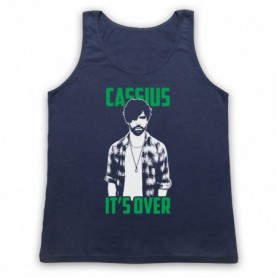 Foals Cassius It's Over Adults Navy Blue Tank Top