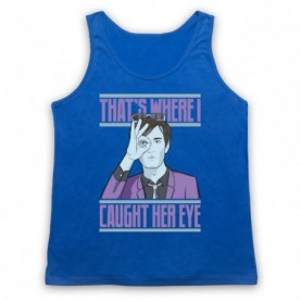 Pulp Common People Adults Royal Blue Tank Top