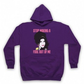 Amy Winehouse Valerie Adults Purple Pullover Hoodie