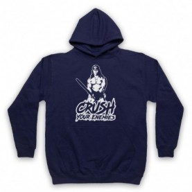 Conan The Barbarian Crush Your Enemies Hoodie Sweatshirt Hoodies & Sweatshirts