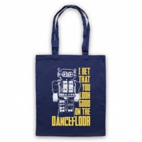 Arctic Monkeys I Bet That You Look Good On The Dance Floor Navy Blue Tote Bag