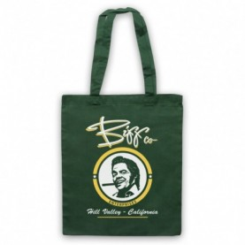 Back To The Future Biff Co Dark Green Tote Bag
