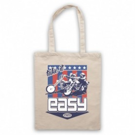 Easy Rider Take It Easy Natural Tote Bag