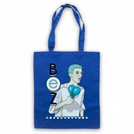 Happy Mondays Bez Royal Blue Tote Bag