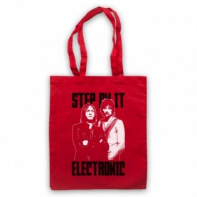 Kasabian LSF Lost Souls Forever Red Tote Bag