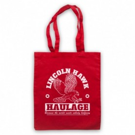 Over The Top Lincoln Hawk Haulage Sylvester Stallone Red Tote Bag