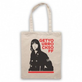 Primal Scream Rocks Natural Tote Bag